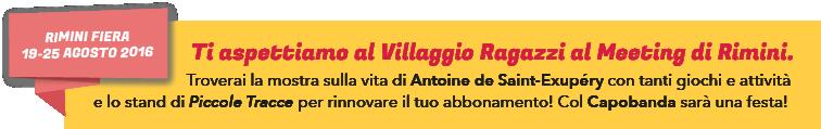 Villaggio ragazzi, Meeting di Rimini